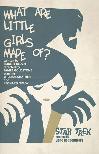 <p>A golem-like poster for &quot;What Are Little Girls Made Of?&quot;</p>