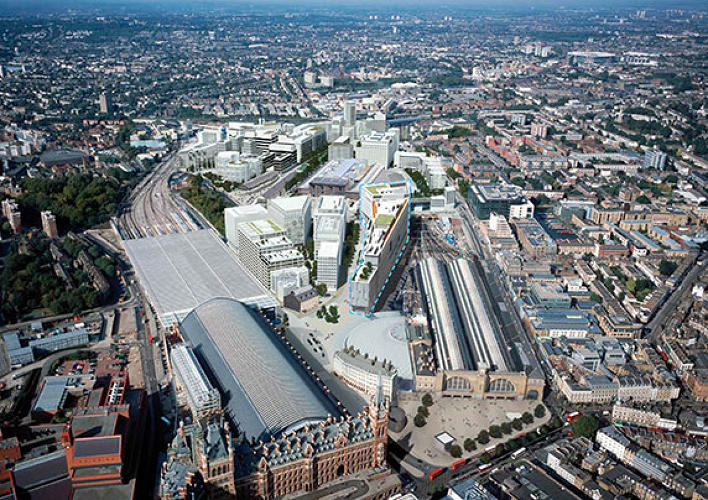 <p>The 2.4-acre site is part of a larger site called King's Cross Central, and overlooks the train station of the same name. The area has undergone a huge amount of regeneration in the past decade, and Google's neighbors will include the <em>Guardian</em>.</p>