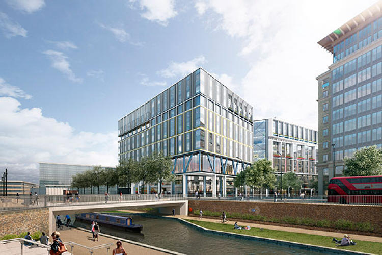<p>Google employees will be able to get to mainland Europe in under three hours as King's Cross St Pancras International station is nearby. Fans of slower transport can watch the long boats chug by on the Regent's Canal.</p>