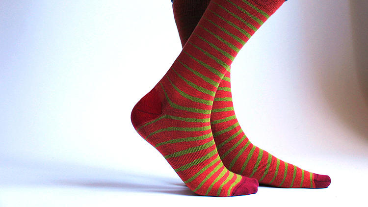 <p>XOAB is a new company by programmer/designer duo Rick and Neil Levine that is trying to design a better sock by improving the process by which socks are actually designed.</p>