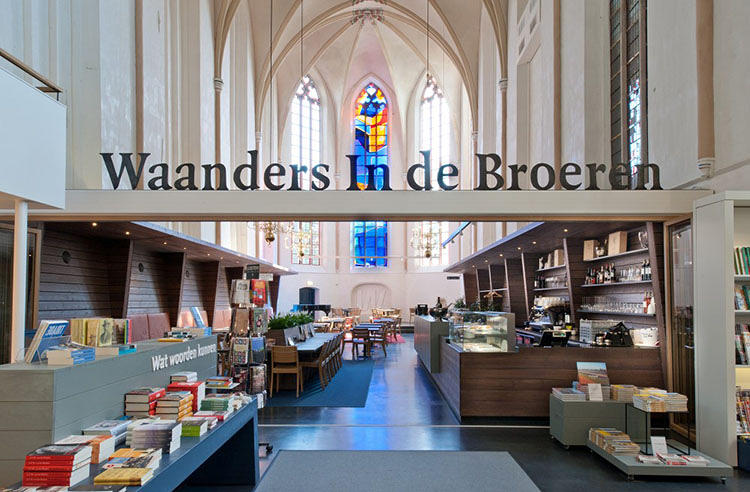 <p>The new Waanders In de Broeren bookstore operates out of one saintly locale.</p>