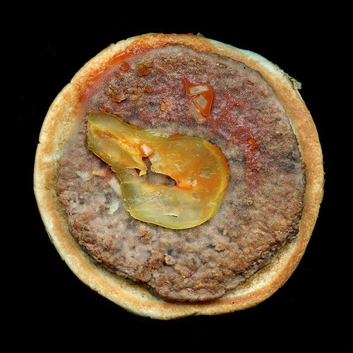 <p>The project was born out of Feinstein's personal relationship with fast food. When he ended a six-year hiatus on eating meat, he felt a growing curiosity over the mass-produced burgers.</p>
