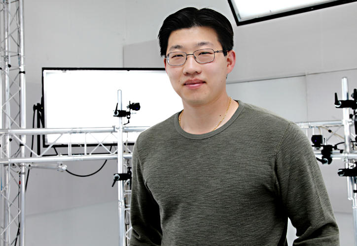 <p>Oliver Bao, Depth Analysis' Head of R&amp;D who pioneered the MotionScan technology with company founder and L.A. Noire creator, Brendan McNamar</p>
