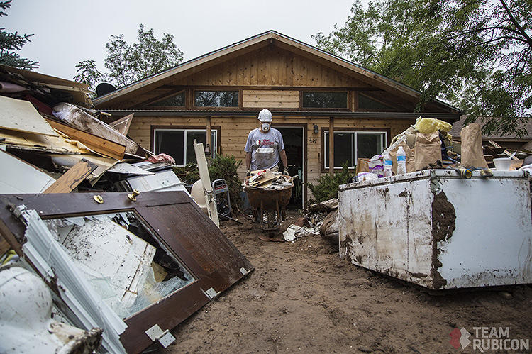 <p>In the wake of the floods that devastated northern and eastern Colorado last month, Team Rubicon organized some 200 volunteers to start fixing the damage in the city of Longmont.</p>