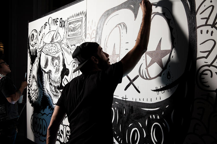 <p>#secretwalls - art battles.</p>