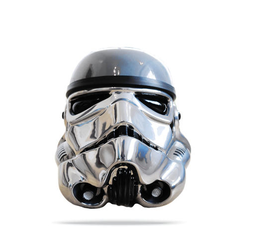 <p>Andrew Ainsworth, 'Glimmer of New Hope.' Acrylic Capped ABS Storm Trooper head by Andrew Ainsworth. 2013. Signed by Andrew Ainsworth.<br /> Courtesy of Shepperton Design Studios.</p>