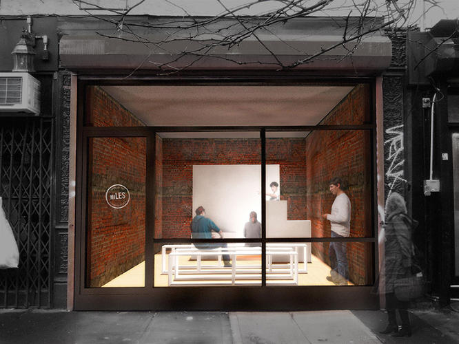 <p>Ho is the brains behind miLES (or &quot;made in Lower East Side&quot;), an urban revitalization group that wants to find creative, short-term--or &quot;pop-up&quot;--uses for these long-empty storefronts.</p>