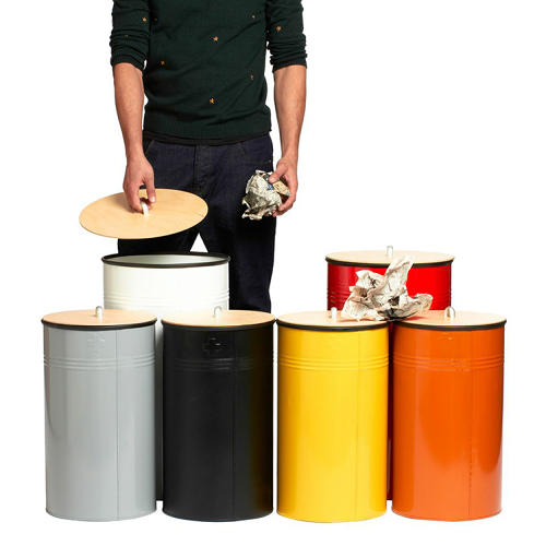 <p>Recycling bins by Pedersen + Lennard.</p>
