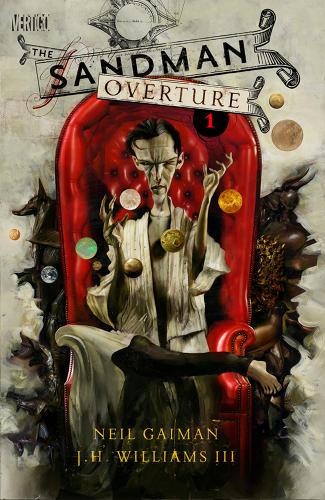 <p><em>The Sandman: Overture</em> issue #1 cover B by Dave McKean<br /> All issues will have both an A cover by Williams and B cover by McKean.</p>