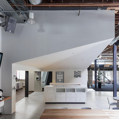 "<p>The office is left intentionally unfinished. Says Pinterest co-founder Evan Sharp: ""The one certain thing about a startup is that the future is highly uncertain, and so like an information system, we wanted the design of the office to be flexible enough that the design would be able to adapt as the company changes over time.</p>"