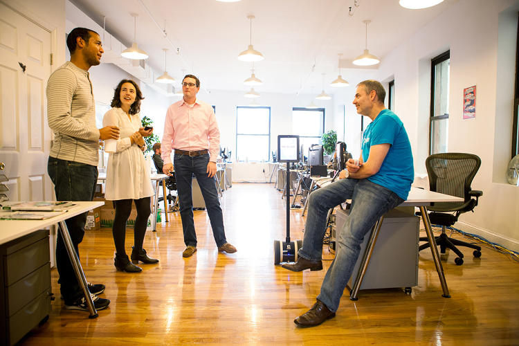<p>Dashlane prides itself on not going overboard with the perks. It does, however, have windows. &quot;We'd rather spend our resources and money on things that are going to make us stronger as a team,&quot; says Dashlane CEO Emmanuel Schalit.</p>