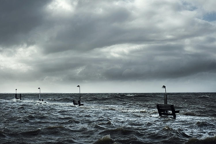 <p>An exhibit called Rising Waters uses snapshots by ordinary New Yorkers to illustrate the wrath of Superstorm Sandy.</p>