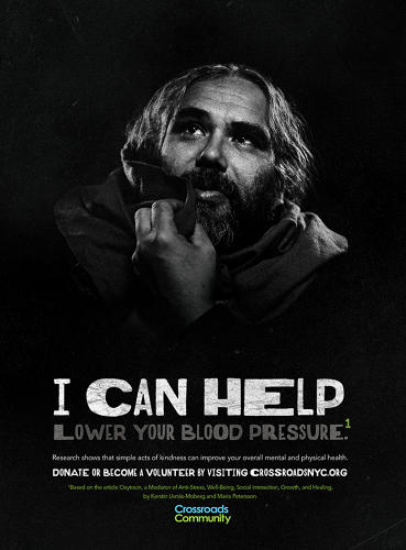 <p>In a new pro bono campaign, an ad firm thinks it's figured out a way to get people to finally pay attention to the problem of homelessness: by pointing out how giving to the homeless benefits the giver.</p>