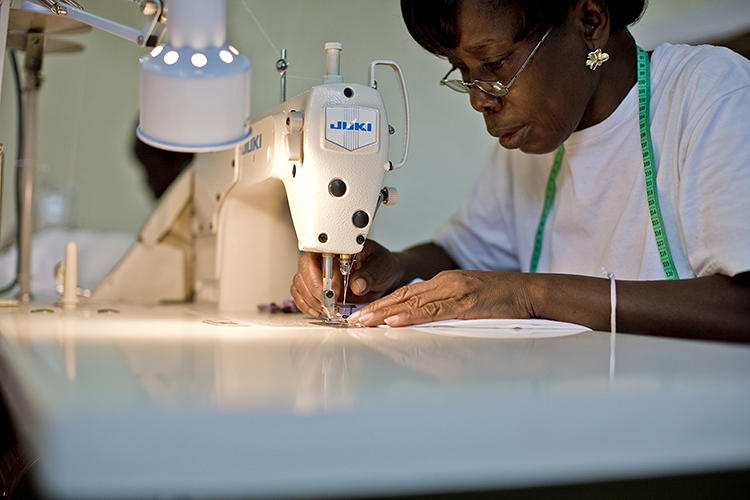 <p>The workers at the company's factories in Liberia and Ghana are 90% female, and paid 20% higher wages than their peers on average.</p>