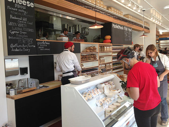 <p>Restaurateurs Yaron Milgrom and Jake Des Voignes are about to open the store in a 2,700-square-foot space.</p>