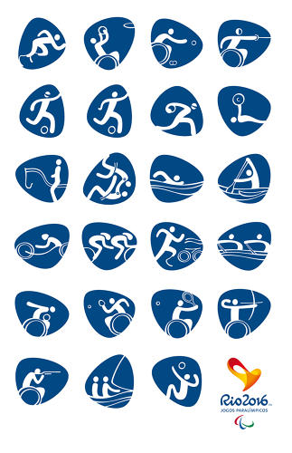 <p>For the first time ever, the Olympic and Paralympic Games are represented in the same set of graphics.</p>
