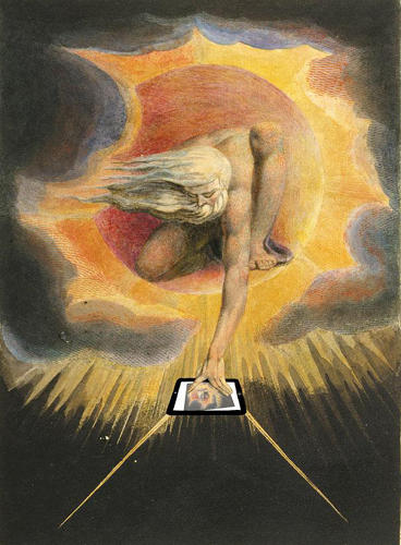 "<p>""The Ancient of Days"" by William Blake</p>"