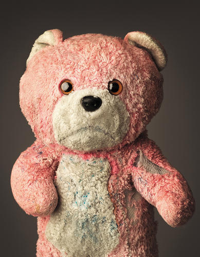 <p>Mark Nixon's <em>Much Loved</em> is a collection of photographs of much beloved teddy bears and other stuffed animals.</p>