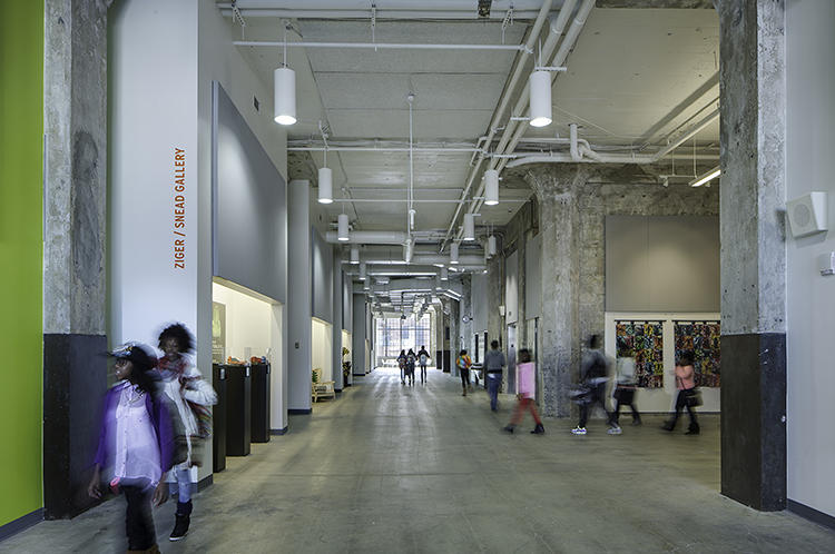 <p>The nearby Maryland Institute College of Art was also pivotal in founding the school and has an ongoing relationship with BDS, donating staff time, resources, and money.</p>