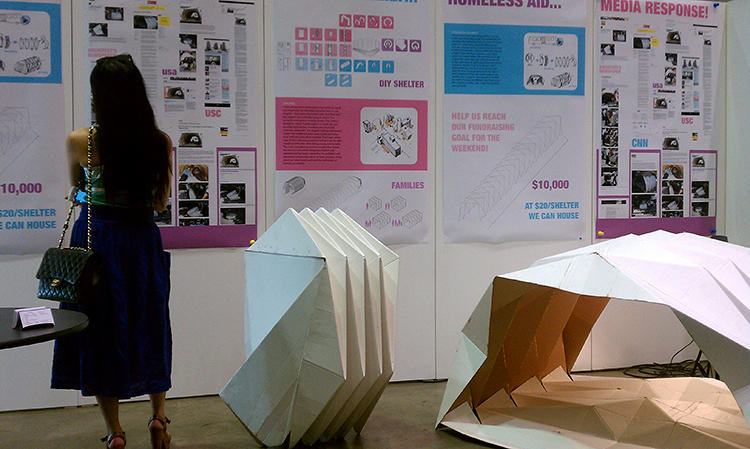 <p>Hovsepian designed the Cardborigami as an student at the USC School of Architecture in 2007. After several years of pursuing the idea, she's ready to make her first large-scale production run now.</p>