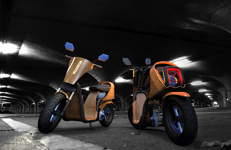 <p>Like an electric scooter, the Ecomoto is quiet, doesn't pump pollution into the atmosphere, and if the air compressor used to fill its tank runs on renewable electricity, doesn't have much of a carbon footprint.</p>