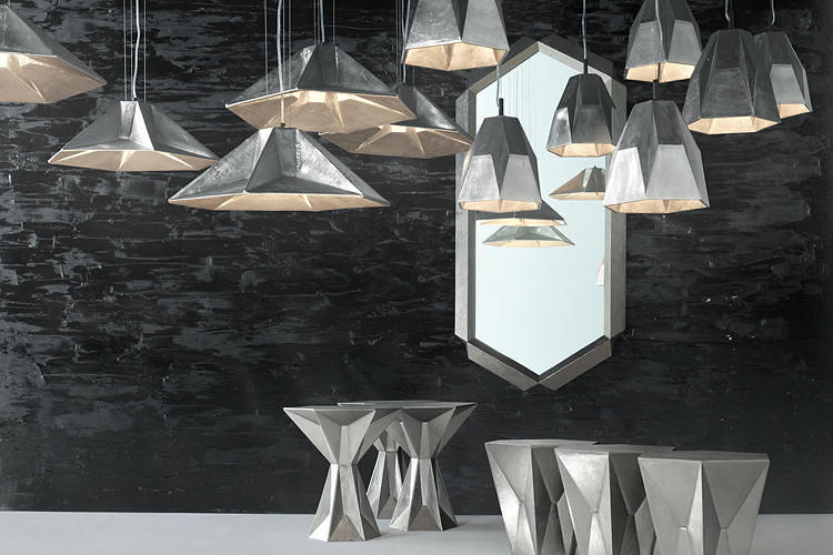<p>The prolific British designer Tom Dixon debuted an expansive new collection of <a href=&quot;http://www.fastcodesign.com/1672230/tom-dixons-new-line-of-massive-monolithic-furniture&quot; target=&quot;_self&quot;>furniture</a>, lighting, and <a href=&quot;http://www.fastcodesign.com/1671690/wanted-tom-dixon-s-london-powered-line-of-old-school-accessories&quot; target=&quot;_self&quot;>accessories</a> this year. Take a look <a href=&quot;http://www.tomdixon.net/lp/new-2013-collection&quot; target=&quot;_blank&quot;>here</a>.</p>