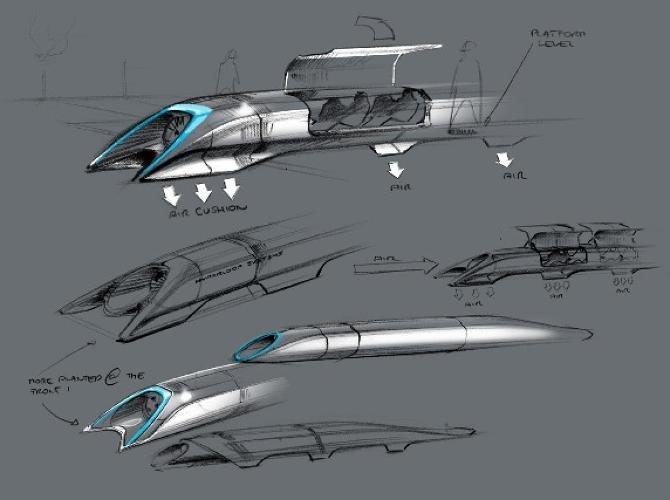 <p>The man behind Tesla and SpaceX <a href=&quot;http://www.fastcoexist.com/1682841/heres-what-elon-musks-high-speed-hyperloop-will-look-like&quot; target=&quot;_self&quot;>released the plans to his highly anticipated new mode of transportation</a> that can take you from L.A. to San Francisco in under an hour. Will this change transportation, or should we call it a &quot;don't believe the hype-r loop?&quot;</p>