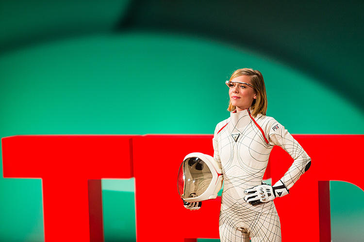 <p>Dava Newman has spent over a decade working on a sleeker spacesuit for Mars exploration.</p>