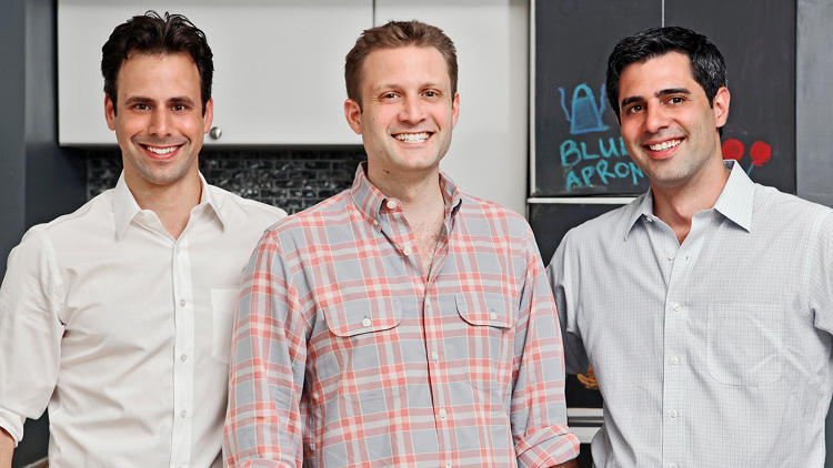 <p>&quot;It's a symbol of the lifelong pursuit in learning for food,&quot; says cofounder and chief product officer Matthew Wadiak, pictured left with CEO Matthew Salzberg (center) and CTO Ilia Papas. &quot;It's a modest way of reminding yourself that you are never done learning in the kitchen and for us, we want our customers to think like that.&quot;</p>
