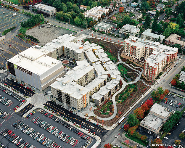 <p>Since Washington has laws on the books limiting sprawl--protecting farmland, forests, and other open spaces around cities from development--places like Northgate are the perfect place to squeeze in the coming hordes.</p>