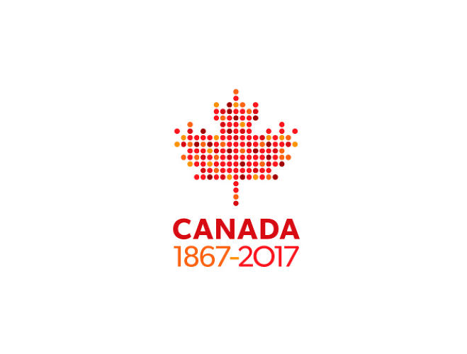 <p>Henry Tyminski<br /> Designer, Partner<br /> Sali Tabacchi Inc. <br /> 150 dots arranged in a maple leaf representing 150 years. The dots can also symbolize the many different cultures that can be found within Canada – to express Canada's multiculturalism. Font used: Gibson, designed by Canadian type designer Rod McDonald.</p>