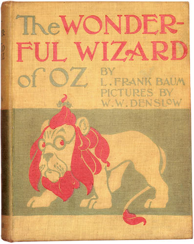 <p><em>The Wonderful Wizard of Oz,</em> by L. Frank Baum, Illustrated by W.W Denslow, Chicago, New York: George M. Hill Co.</p>