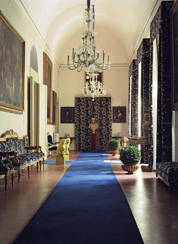 <p>Inside the Palazzo Pucci, built in the 15th century in Florence.</p>