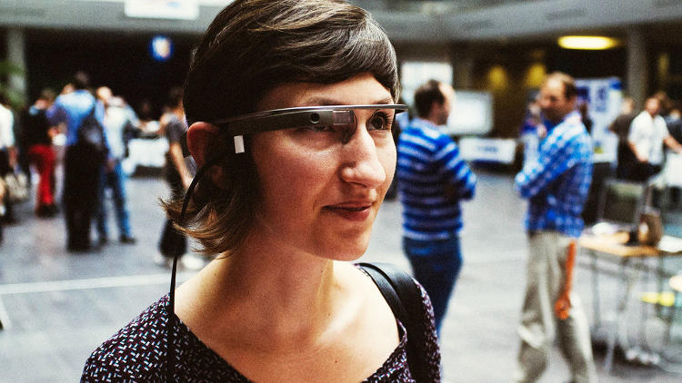 <p>Somewhere around 1,500 people a year go to the hospital with a bad case of &quot;distracted walking,&quot; i.e. trying to navigate while using a cell phone. So what happens when everyone's walking around with Google Glass? <a href=&quot;http://www.fastcodesign.com/3021668/evidence/google-glass-and-the-rise-of-distracted-walking&quot; target=&quot;_self&quot;>Pandemonium</a>.</p>