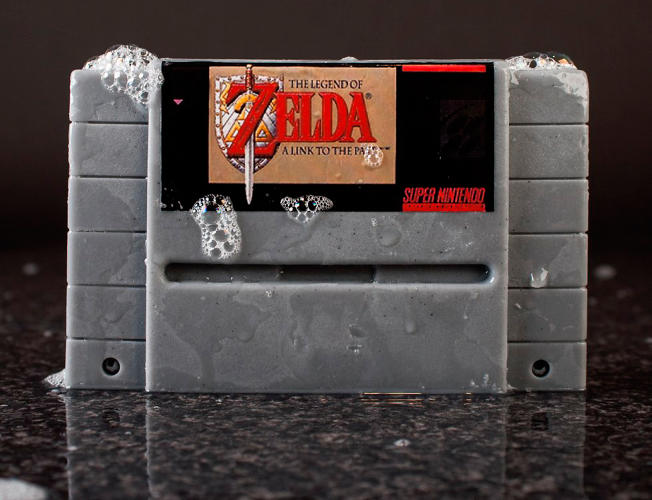 <p>If you know someone who smells bad <em>and</em> has a vintage Nintendo fetish, <a href=&quot;http://www.firebox.com/product/6196/Super-Nintendo-Gamer-Soap-Cartridges?via=whatsnew&quot; target=&quot;_blank&quot;>Yahtzee</a>.</p>