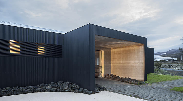 <p>Minarc, a studio run by two natives of Iceland, aimed to incorporate some of the country's natural features into the design.</p>