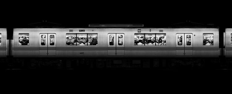 <p>With <em>Stainless</em>, photographer Adam Magyar captures the beauty of moving trains.</p>