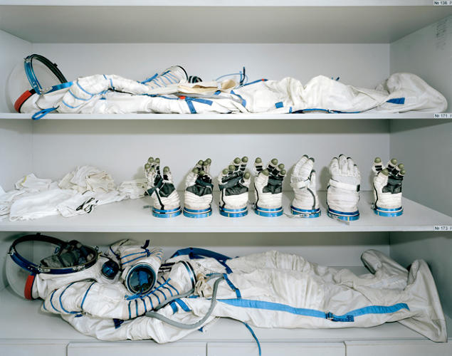 <p>Astronaut dressing room, Yuri Gagarin Cosmonaut Training Centre (Star City, Russia)</p>
