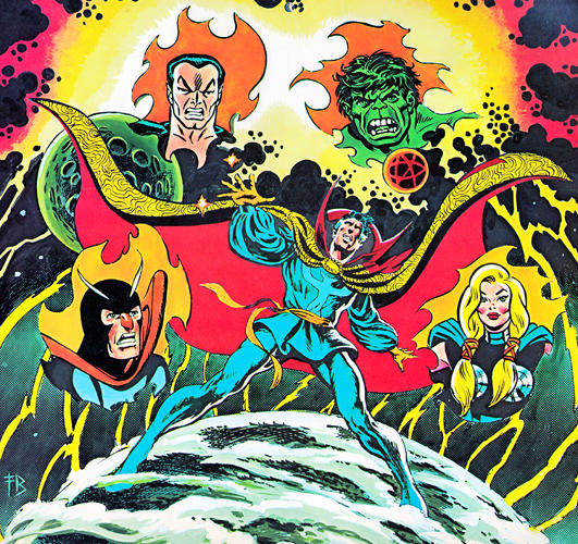 <p>February is Dr. Strange and The Defenders Time!</p>
