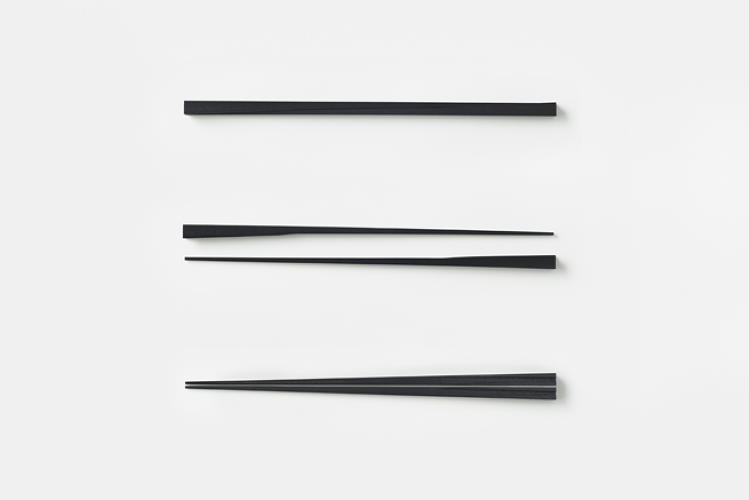 <p>Another chopstick uses magnets for the same effect.</p>