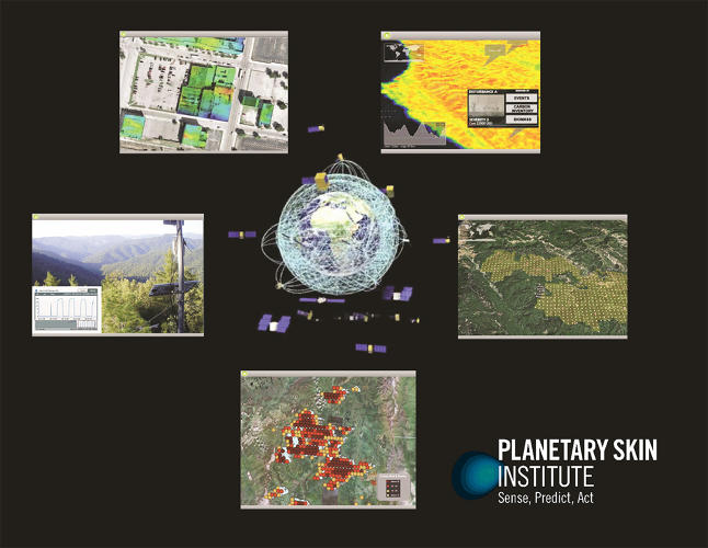 <p>Planetary Skin works by bringing together sensors, big data analytics, collaboration with experts in everything from hydrology to help create recommendations to help governments and businesses make better decisions.</p>