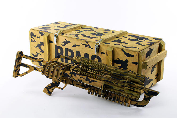 <p>Which comes with its own ammo box, natch.</p>