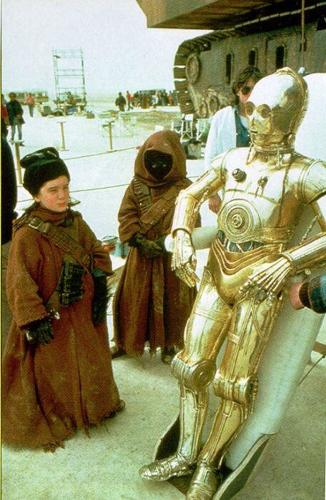 <p>The Jawas in <em>Star Wars</em> were played by children.</p>