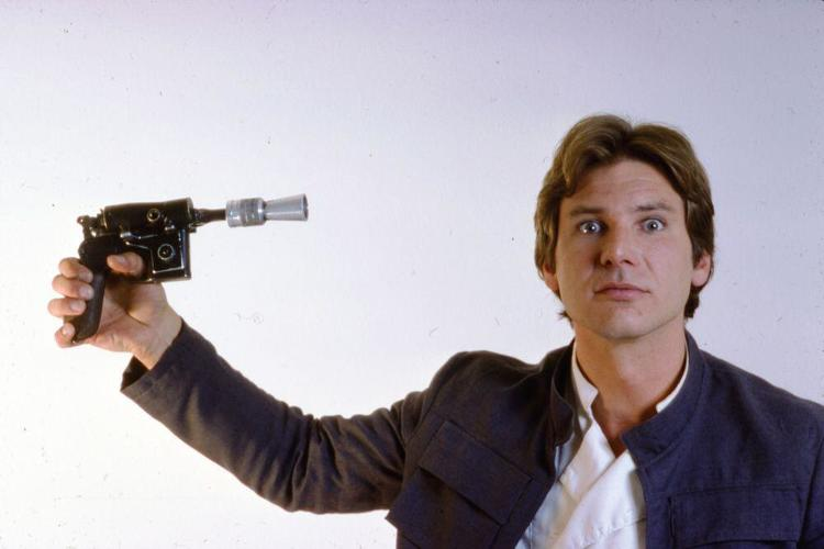 <p>Han shot (himself) first.</p>