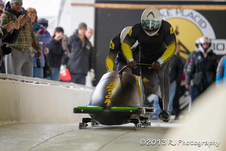 <p>With talent and help from the crowd, the first Jamaican bobsled team since 2002 is going to the Olympics.</p>
