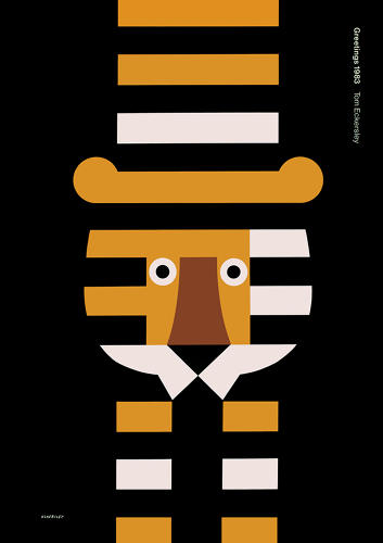 <p><em><a href=&quot;http://blogs.arts.ac.uk/london-college-of-communication/2013/12/18/tom-eckersley-master-of-the-poster/&quot; target=&quot;_blank&quot;>Tom Eckersley: Master of the Poster,</a></em> a new exhibition at the London College of Communication, celebrates the centenary of this design great's birth, showcasing 40 of his most striking posters from the 1940s to the 1980s. Poster celebrating the New Year, 1983.</p>