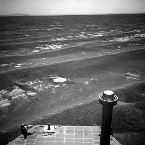<p>On July 17, 2011, Opportunity surpassed 20 miles of driving.</p>