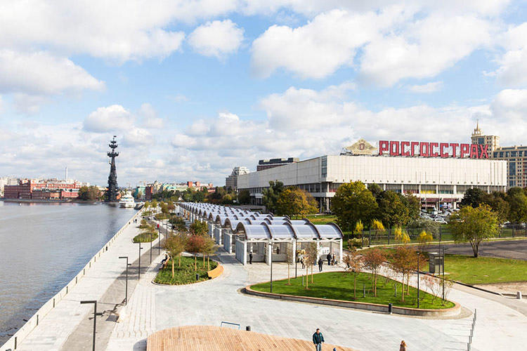 "<p>""We aimed to turn the road into a new city landmark,"" says architect Dmitry Likin.</p>"
