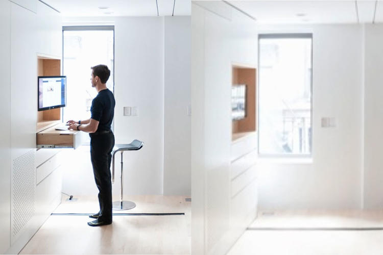 <p>Studies have suggested that people who sit less than three hours a day add a full two years to their life expectancy. Putting a <a href=&quot;http://www.lifeedited.com/tag/standing-desk/&quot; target=&quot;_blank&quot;>standing desk</a> in your home or office can improve your health and with the right design, stow away discretely.</p>