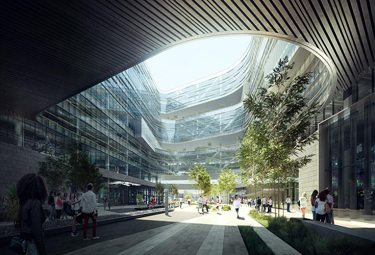 <p>It will take a while to see changes in San Jose, however. Samsung's street-facing headquarters will still be situated in a largely suburban environment, where not many people will be walking by.</p>